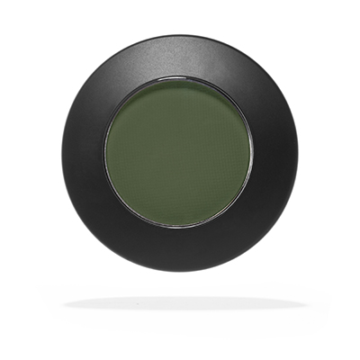 grön matt ögonskugga-emite
