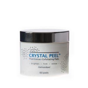crystal peel-peeling för ansiktet
